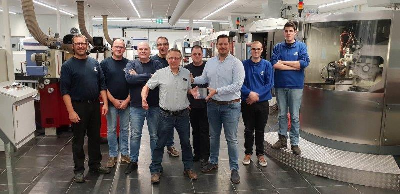 Industrieslijperij van Frankenhuyzen ontvangt RI&E Award 2018!